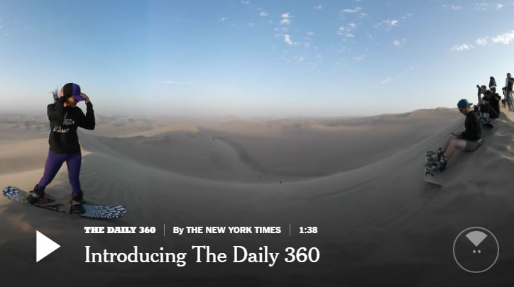 Introduciendo The Daily 360 desde The New York Times